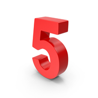 Number 5 PNG & PSD Images