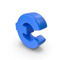 Cartoon Euro Symbol PNG & PSD Images