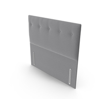 Headboard Grey PNG & PSD Images