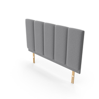 Plush Headboard PNG & PSD Images