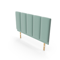 Headboard Mint PNG & PSD Images