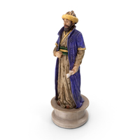 Chess Piece Bishop Black PNG & PSD Images