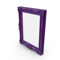 Purple Picture Frame PNG & PSD Images