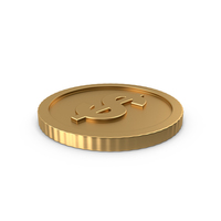 Dollar Coin Side PNG & PSD Images
