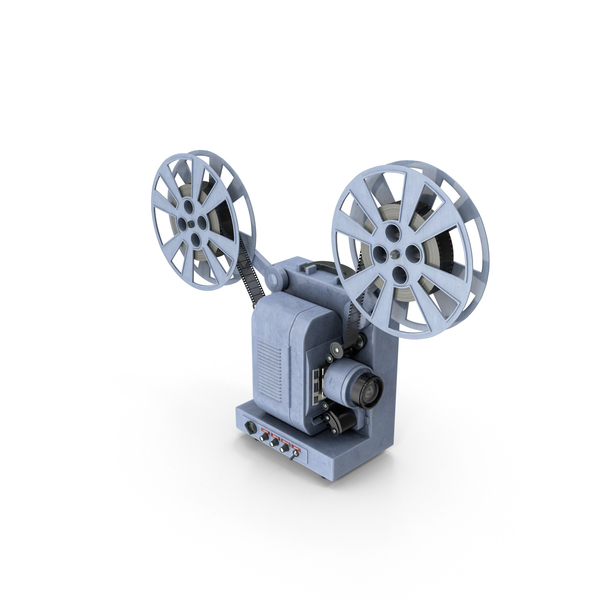GB Bell & Howell Movie Projector PNG & PSD Images