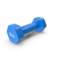 Dumbbell 2lb PNG & PSD Images
