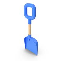 Beach Shovel Blue PNG & PSD Images