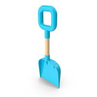 Beach Shovel Light Blue PNG & PSD Images