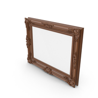 Wooden Picture Frame PNG & PSD Images