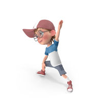 Cartoon Boy Harry Doing Aerobics PNG & PSD Images