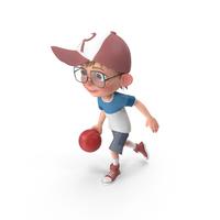 Cartoon Boy Harry Bowling PNG & PSD Images