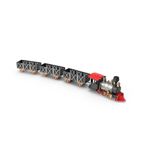 Model Train PNG & PSD Images