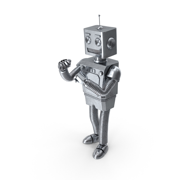 Robot Attacking PNG & PSD Images