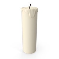 Used Candle PNG & PSD Images