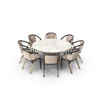 Longhi Manfred Dining Set PNG & PSD Images