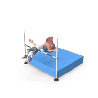 Cartoon Boy Harry High Jump PNG & PSD Images