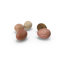Wooden Eggs PNG & PSD Images