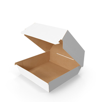 Fast Food Burger Container PNG & PSD Images