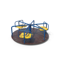 Playground Carousel Dirty PNG & PSD Images