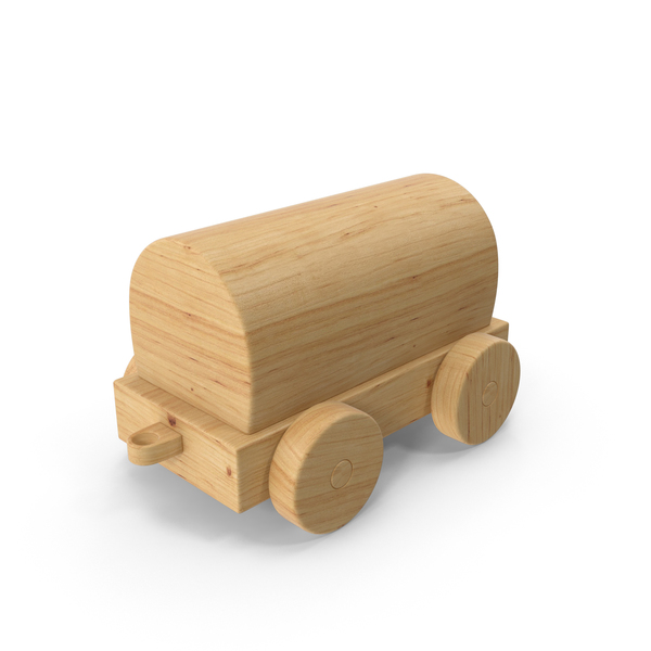 Wooden Toy Train Car PNG & PSD Images