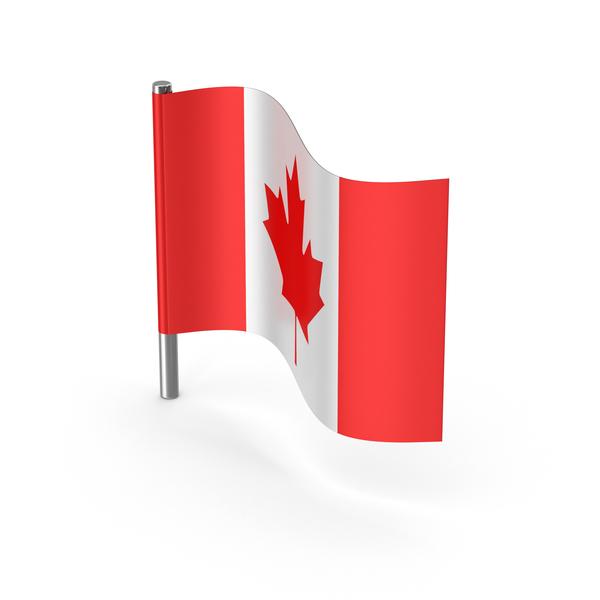 Canada Cartoon Flag PNG & PSD Images