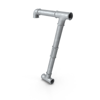 Galvanized Steel Pipe Number 7 PNG & PSD Images