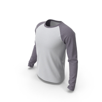 Raglan Sleeve T-Shirt PNG & PSD Images