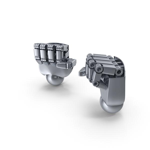 Robot Hands Fist PNG & PSD Images