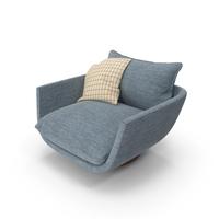 Blue Armchair PNG & PSD Images