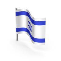 Israel Cartoon Flag PNG & PSD Images