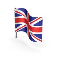 United Kingdom Cartoon Flag PNG & PSD Images