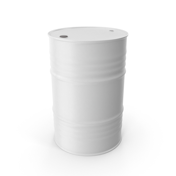Oil Drum White PNG & PSD Images