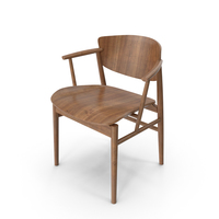 Dark Wood Chair PNG & PSD Images