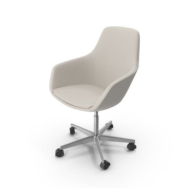 Beige Swivel Chair PNG & PSD Images
