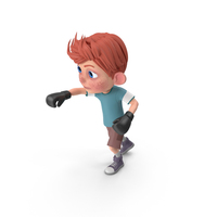 Cartoon Boy Charlie Boxing PNG & PSD Images