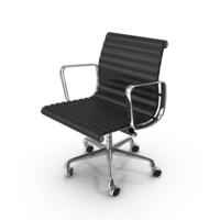 Eames Aluminum Management Chair PNG & PSD Images