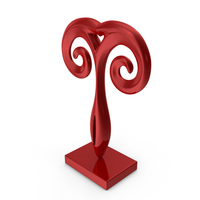 Abstract Figure Red PNG & PSD Images