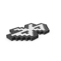 Pixelated Bluetooth Icon PNG & PSD Images