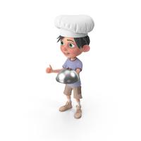 Cartoon Boy Jack Chef PNG & PSD Images
