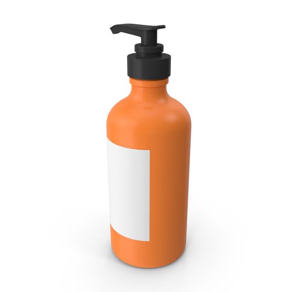 Push Bottle Orange PNG & PSD Images