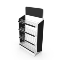 Retail Wire Rack PNG & PSD Images