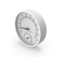 Sauna Thermo-Hygrometer PNG & PSD Images