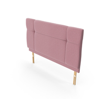 Headboard Blush PNG & PSD Images