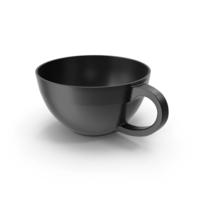 Crisp Matte Black Mug PNG & PSD Images