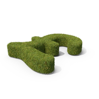 Grass Pounds Symbol on Ground PNG & PSD Images