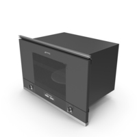 Smeg MP122N1 Microwave Oven PNG & PSD Images