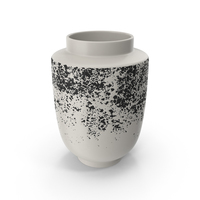 Miriam Speckled Vase PNG & PSD Images