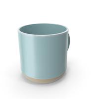Mug Level Light Blue PNG & PSD Images