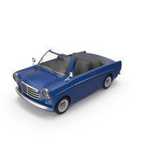 Cartoon Cabriolet PNG & PSD Images