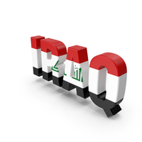 Iraq Text PNG & PSD Images